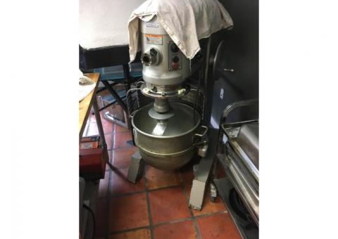 Hobart 60qt single phase stand mixer