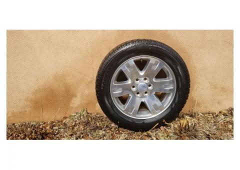 "GMC Yukon 20"" Rims and Tires"